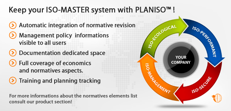Keep your ISO-MASTER système with PLANISO®